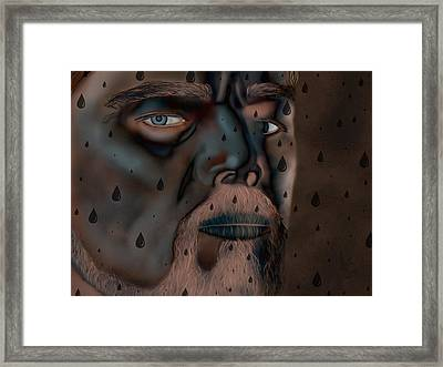 Statue Bronze Dicaprio  Framed Print by Mathieu Lalonde