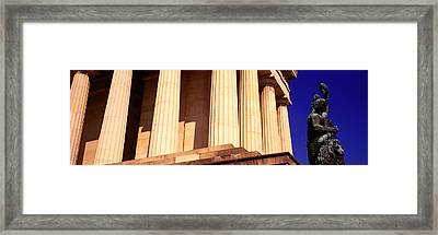 Statue Munich Germany Framed Print by Panoramic Images