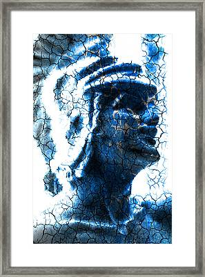 Statue Of A Gladiator  Framed Print