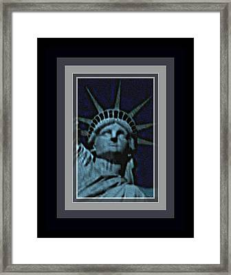 Statue Of Liberty 1 Framed Print by Tracie Howard