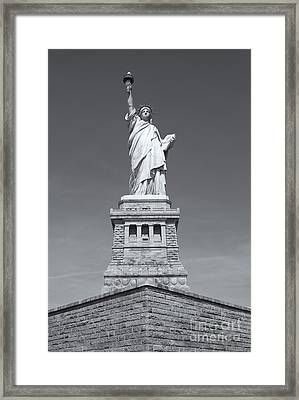 Statue Of Liberty IIi Framed Print by Clarence Holmes