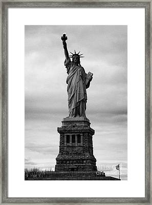 Statue Of Liberty National Monument Liberty Island New York City Usa Nyc Framed Print