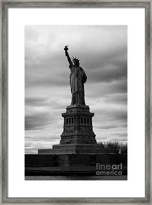 Statue Of Liberty New York City Framed Print by Joe Fox