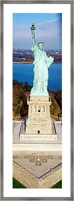 Statue Of Liberty, New York, Nyc, New Framed Print by Panoramic Images