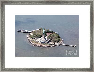 Statue Of Liberty Framed Print by Nir Ben-Yosef