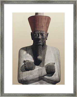 Statue Of Mentuhotep II. 2040 Bc Framed Print by Everett