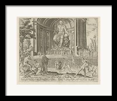 Sculptor Phidias Framed Prints