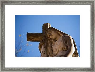 Statues In Huntsville Framed Print