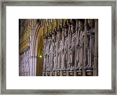 Statuesque Framed Print by Chris Whittle