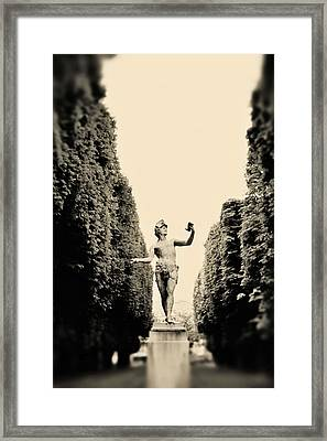 Statuesque Framed Print by Rebecca Cozart