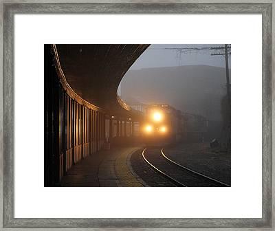 Staunton Virgina Train Framed Print