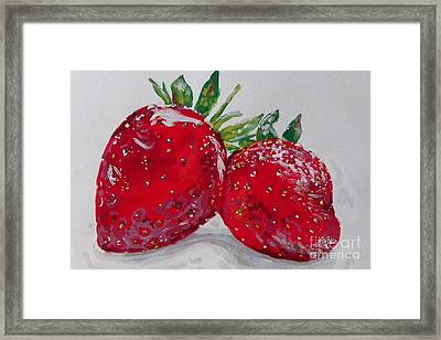 Stawberries Framed Print