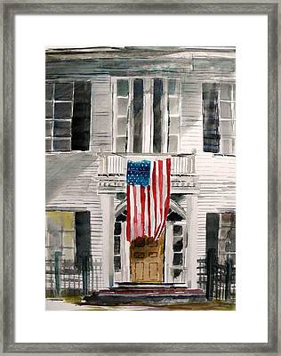 Framed Print featuring the painting Stay Aware by John Williams