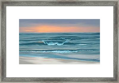 Stay Awhile Longer Framed Print by Anthony Fishburne