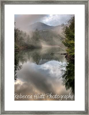 Framed Print featuring the photograph Stay Awhile by Rebecca Hiatt