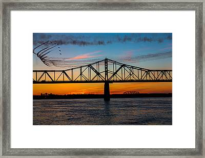 Stay Close Framed Print by James Guest