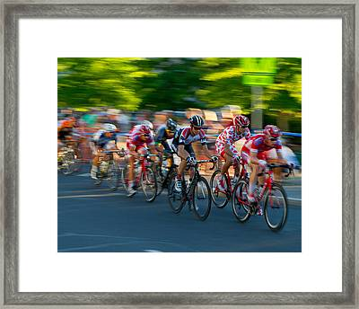 Stay Focused Framed Print