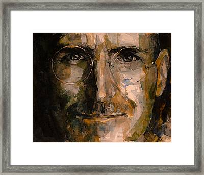 Steve... Framed Print