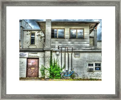 Stay Local Framed Print by MJ Olsen