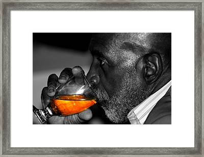 Stay Thirsty My Friend Framed Print