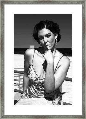 Stay With Me Framed Print by John Rizzuto