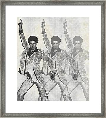 Stayin Alive Pop 2 Framed Print by Tony Rubino
