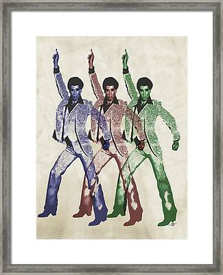 Stayin Alive Pop 5 Framed Print