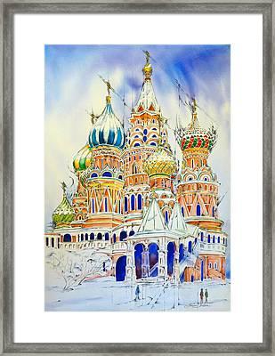 50. St.basil's Cathedral Framed Print