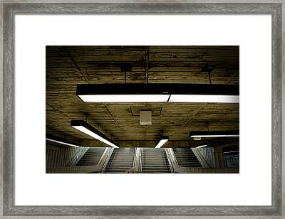 Ste-helene Space Port Framed Print by Eric Soucy