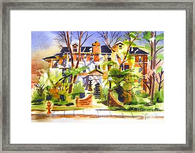 Ste Marys Of The Ozarks Hospital Framed Print by Kip DeVore