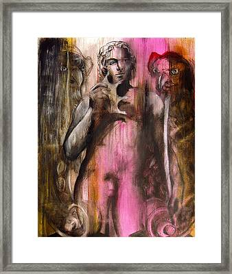 Steal Your Crown Framed Print