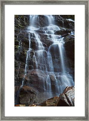 Steall Falls Framed Print