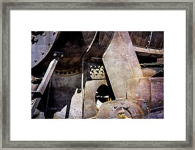 Steam And Iron - Industrial Metal Framed Print