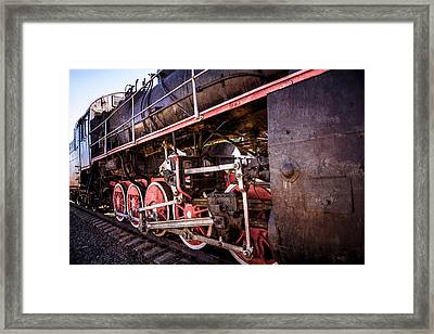 Steam And Iron - Iron Horse - Color Framed Print