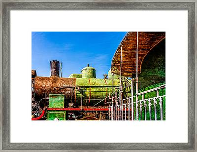 Steam And Iron - Last Station Framed Print by Alexander Senin