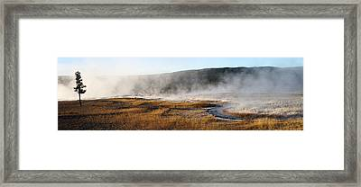 Steam Creek Framed Print