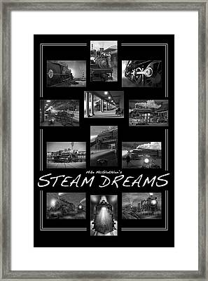 Steam Dreams Framed Print