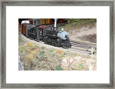 Steam Engine 42 Framed Print by Hugh McClean
