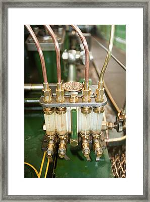 Steam Engine Framed Print by Ashley Cooper