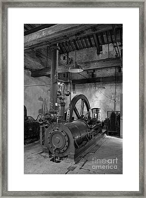 Steam Engine At Locke's Distillery Framed Print by RicardMN Photography