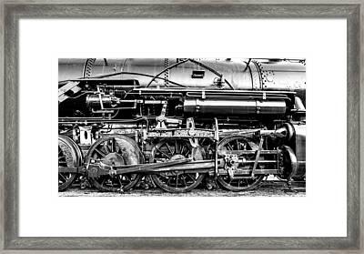 Steam Engine Drive Train Framed Print