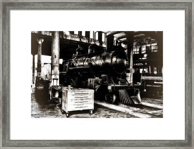 Steam Engine Framed Print by Michael White