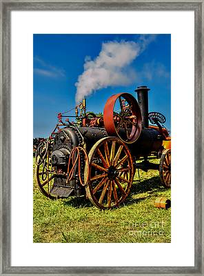 Framed Print featuring the photograph Steam Engine by Trey Foerster