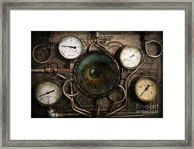 Steam Faith Framed Print