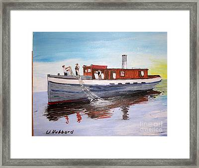 Steam Fishing Tug John Smith Framed Print by Bill Hubbard