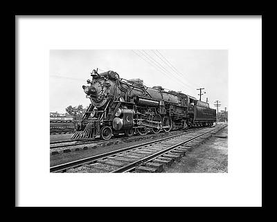 Railroad Tie Framed Prints