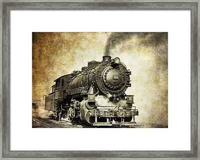 Steam Locomotive No. 334 Framed Print by Daniel Hagerman
