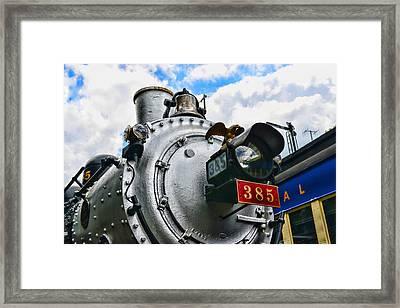 Steam Locomotive No. 385 Framed Print by Paul Ward