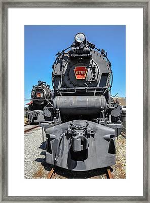 Steam Locomotive - Strasburg Pa Framed Print by Bill Cannon
