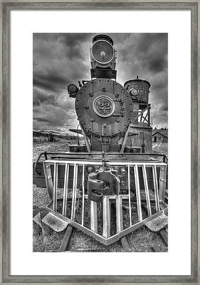 Steam Locomotive Train Framed Print